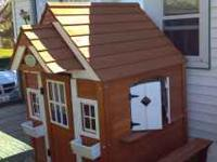 Selling my daughters playhouse, she don't play in it so