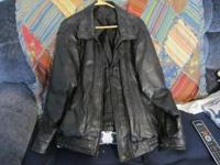 i have a nice patchwork leather jacket i wore one time.