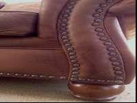 Extremely comfortable and attractive leather-look