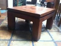 THIS TABLE IS NICE AND IS SOLID WOOD...30.00...OBO...