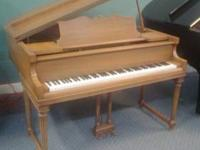 "Marshall & Wendell 5' 2"" Baby Grand Piano, built by"