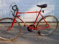 "Here is a nice mens 26"" 10 speed Huffy raceing bike, in"