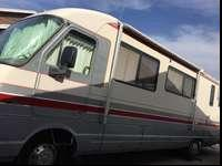 A 1992 pace arrow motorhome has a 460 motor two ac's