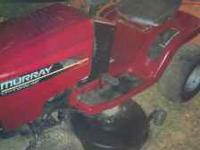 i have a nice murray ridnig mower 42in cut 14.5 hp it