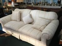 Nice Off White Sofa Clean and from a non smoking home,