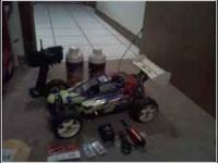 I have a nice condition 1/8 scale buggy for sale, call