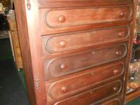 VERY NICE OLD DRESSER. WITH MIRROR EXCELLENT CONDTION