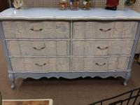 Great vintage wood dresser. Extremely nice looking and