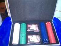 This poker set was $50 new! It is in perfect condition