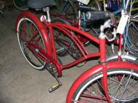 This bike is a single speed bike with new tires and