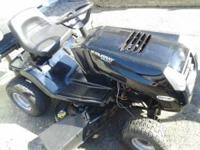 Ride On Mower- Newer Body Style Needs new