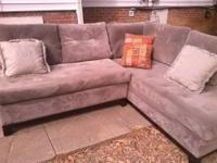 I have a gorgeous like new sectional from Sofa Express