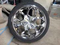 I have a set of 18 inch Polo (cluster) rims on wanli