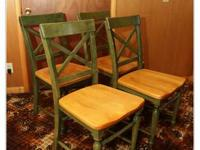 Very Nice set of 6 chairs. (photos only show 4 but