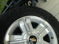 I have a set of 4 Chevy silverado rims that are off my