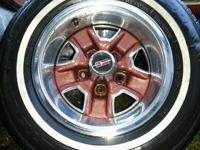 I've a pleasant group of Olds Cutlass SS Move Wheels &