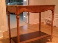 $50--very nice small side table, great condition--