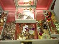 I have about 100 pieces of costume jewelry, Weiss,