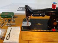 I have a good Singer model 201 for sale. It sews strong