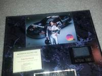Sports Collectibles ~~~~~ Dale Earnhardt Sr. plaque.