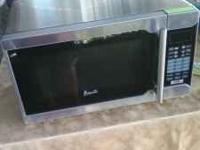 Hi, We a have a very nice stainless steel microwave,