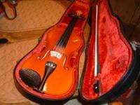 nice Becker 1000 series violin crafted in Romania ready