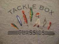 Nice Tacklebox Classic , Fishing Lures Tee-Shirt, Size