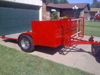 I have a nice trailer for sale. It has a nice 5' x 8'