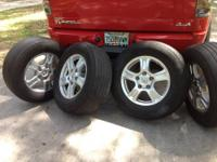 These tires and rims are a killer deal if you want to