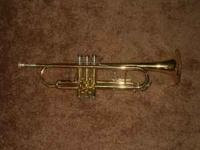 For sale today is a used trumpet. It is a Conn model