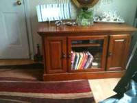 TV Cabinet very nice piece of furniture. Email or call