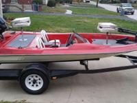 "1987 Twistercraft 13'3"" Mini Bass Boat with a 65hp"