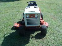 nice very quiet 51/16 simplicity riding mower - $600