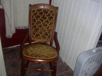 For Sale: Nice Victorian Rocking Chair ,in real good