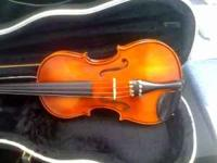 Nice Violin made by J. Balaton, Hungary. Full size,