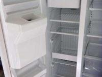 Really Nice white refrigerator. Is clean and in really