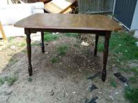 I have a pretty little country table for sale, with