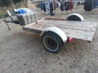 I have a nice work trailer i am selling. It's about 8x5