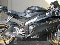 I have a 2006 Yamaha YZF-R6 for sale in great condition