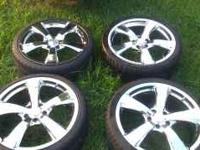 Nice set of rims had them on 2006 eclips, tooken off