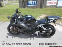 CLEAN 2009 HONDA CBR600RR WITH ONLY 2508 MILES N.A.D.A.