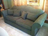 We have a Green Couch and a Loveseat for sale. They are