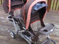 I have GRACO double stroller for sale.Its really good