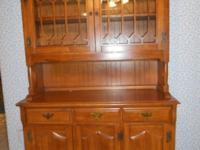 Dining Hutch in good condition. The measurements are: