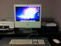 "Selling my 17"" Apple iMac desktop computer. This"