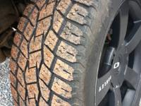 I have a set of 22s with some 305/45/22(32in) toyo open