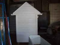 4x6x8 shed , garden, playhouse shed .very well built.