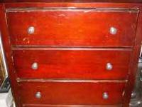 I have a nice solid wood dresser to sell. Height is