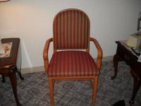 This is a good upholstered side chair, no tears,