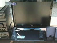 Nice 22 inch Monitor & Sony HDMI dvd player w-remote